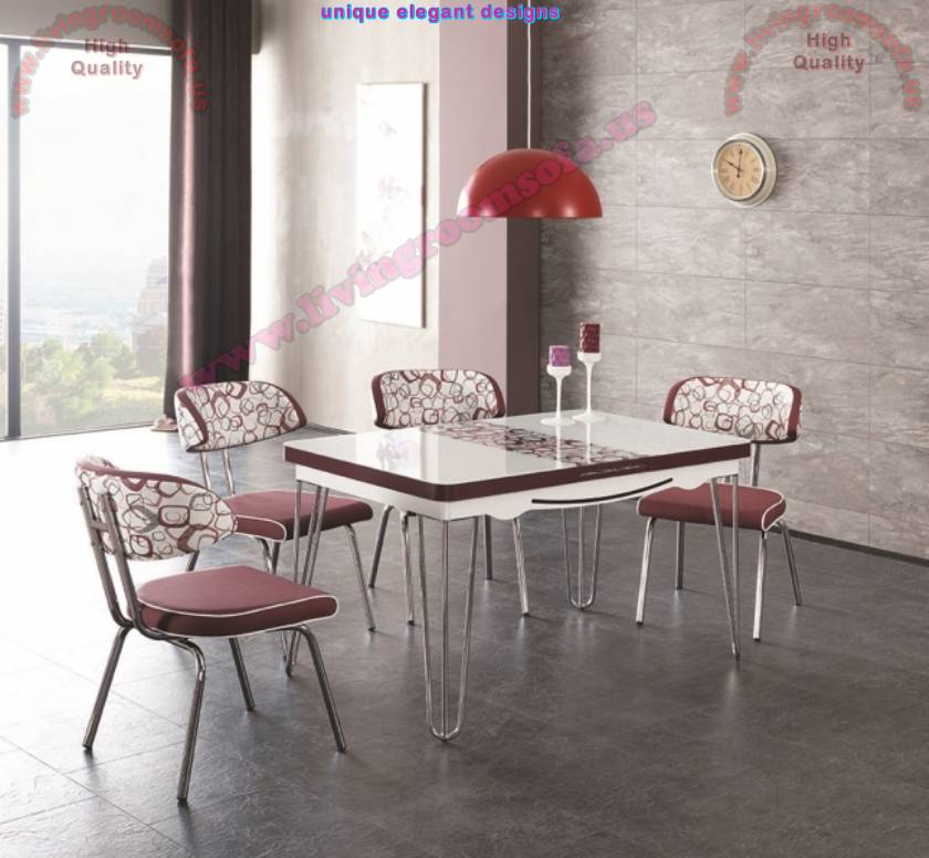 Modern Kitchen Table And Chairs Dining Tables Design