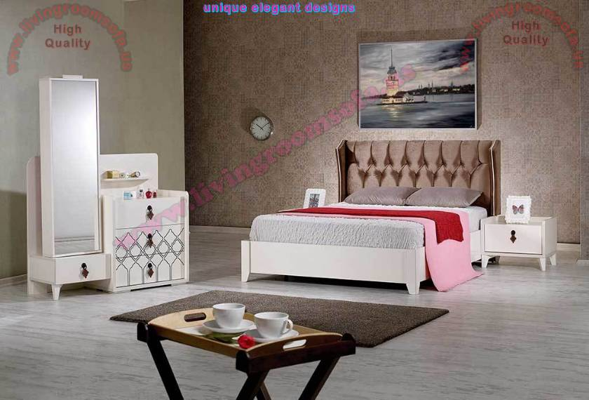 Modern Quilted Bed Head Bedroom Sets