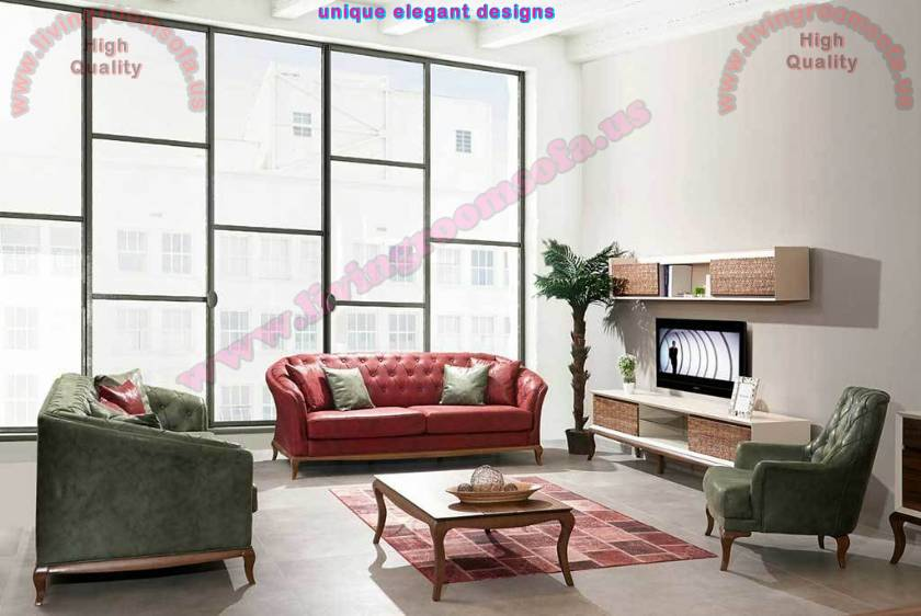 Modern Red And Green Leather Sofa Design Ideas Exclusive Design Ideas