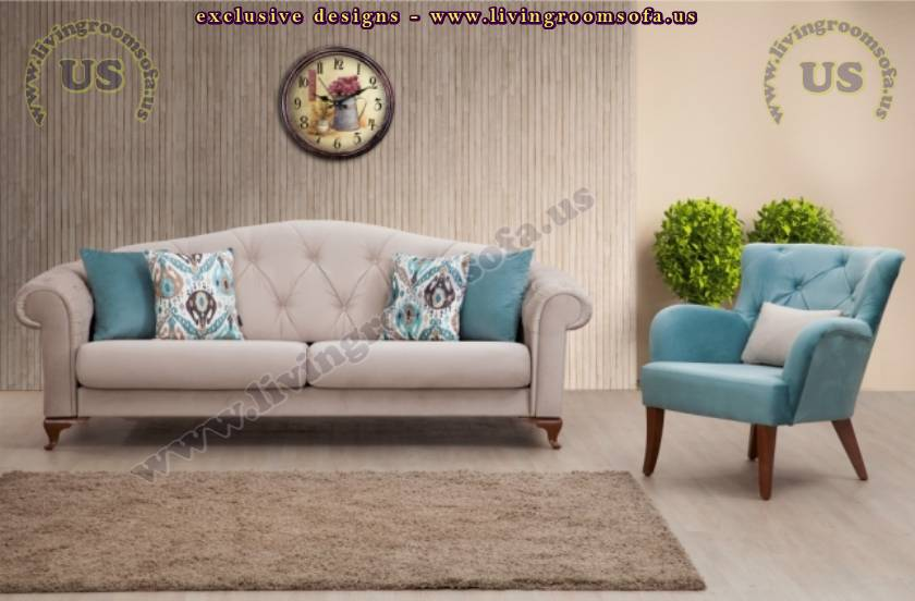 Modern Spacious Design Quilted Sofa Chesterfield Ideas