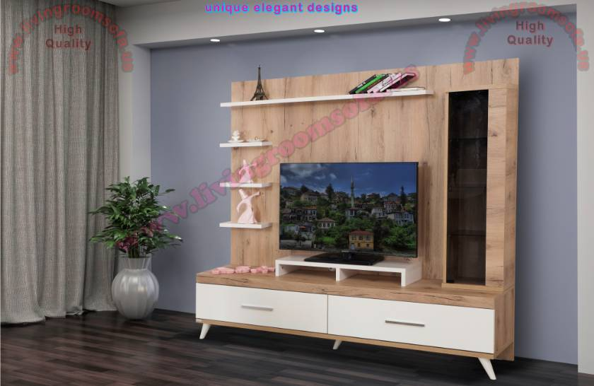 Modern Tv Units Wall Units Model Design Idea