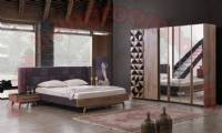 Brown Modern Bedroom Furniture Design Ideas