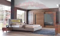 Modern Brown Bedroom Furniture Sets