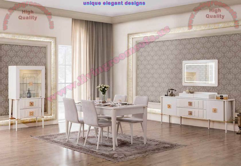 White Dining Room Sets Design Ideas