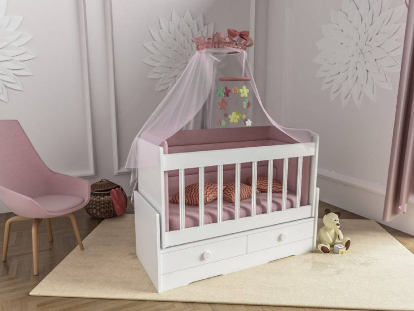Wooden Swing Baby Cradle Cradle Design With Drawers