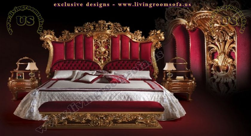 Beautiful Design Classical Bedroom Furniture Design
