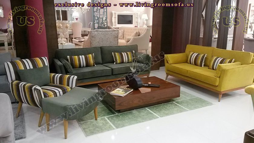 Modern Living Room Sofa Sets Design Ideas