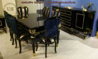 Classical Dining Room Furniture Black Design