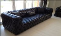 Leather New Style Chesterfield Sofa