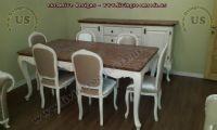 avantgarde classic dining room design idea