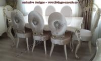 avantgarde dining table and chairs design