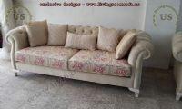 beige chesterfield couch design