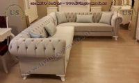 beige chesterfield sofa classic style corner sofa
