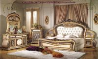 carved classic bedroom furniture design