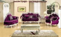 classical maroon sofa set living room design