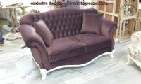 elegant velvet chesterfield couch design