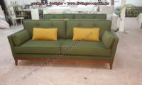 fabric modern couch design green