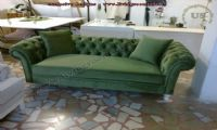green chesterfield usa design