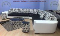 modern sectional l shaped sofa design for living