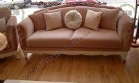 pink velvet avantgarde couch design