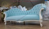 sky blue elegant loveseats beauty for women