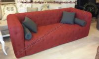 testaceous chesterfield sofa modern design