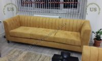 yellow beautiful modern couch for living room