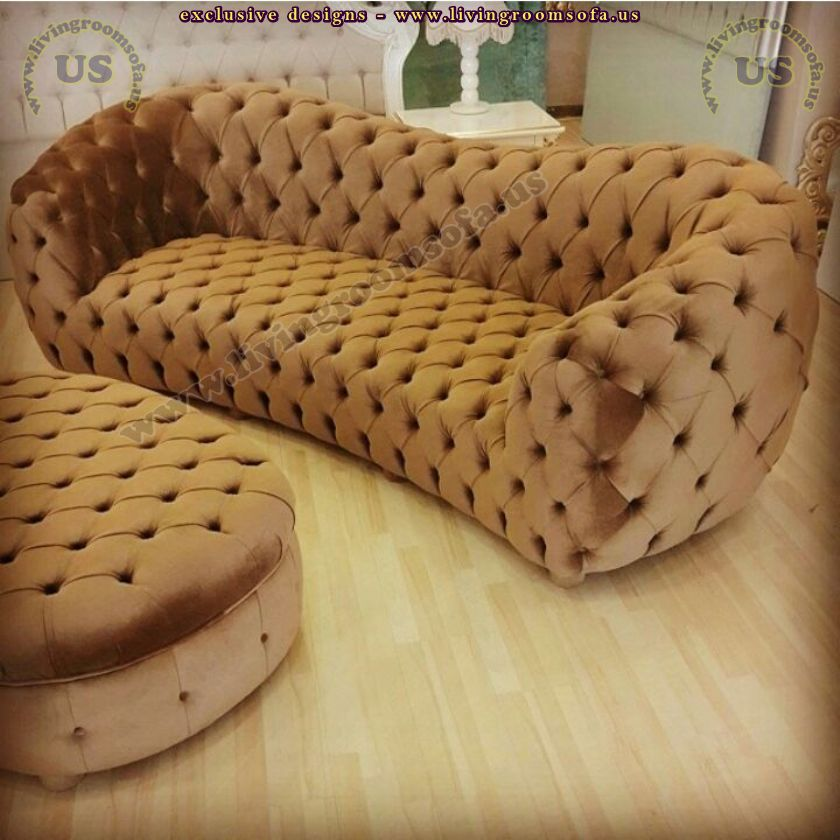 amazing chesterfield sofa with ottoman