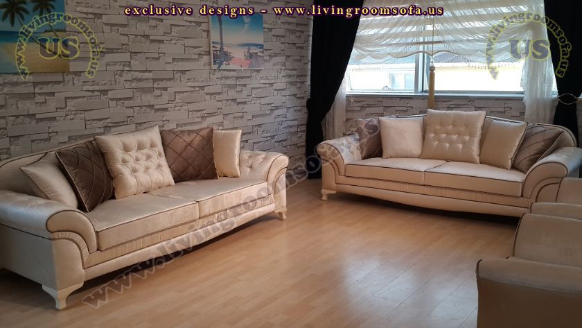 avantgarde living room sofa set design