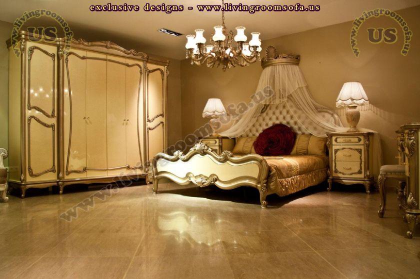 beautiful classic berdoom furniture decoration