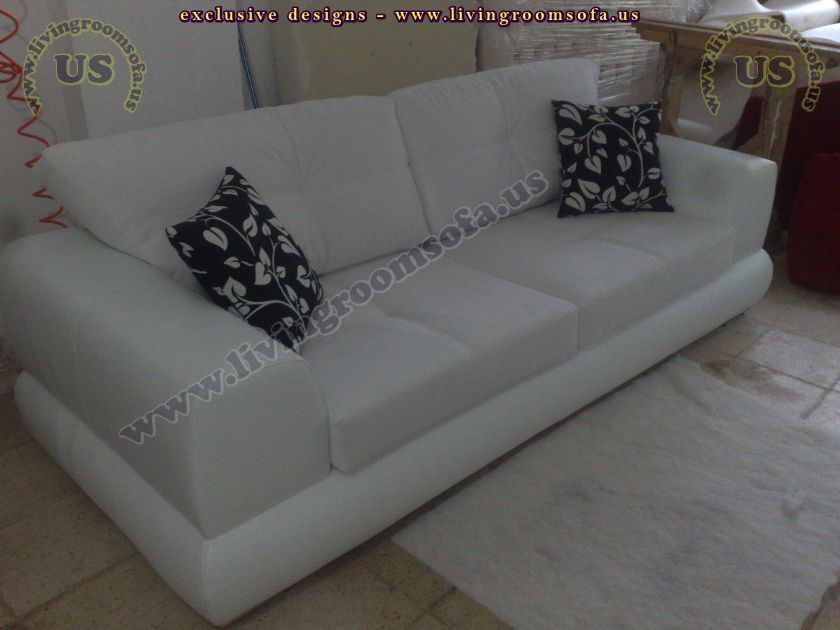 beautiful couch design modern white fabric