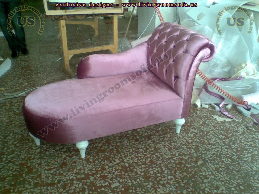 beautiful pink loveseat