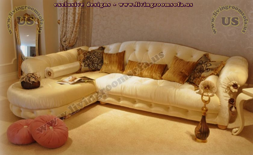 beige avantgarde l shaped sofa for living room