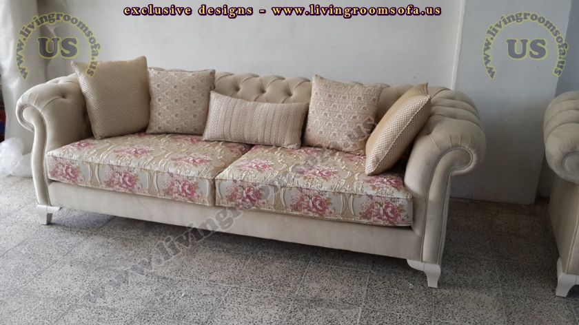 beige chesterfield couch design
