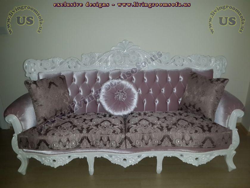 classic carved couch sofa design idea