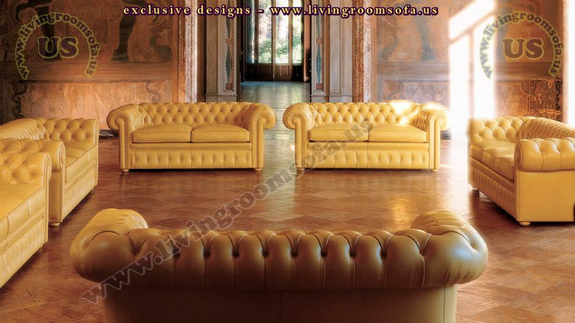 classic chesterfield sofas decoration ideas
