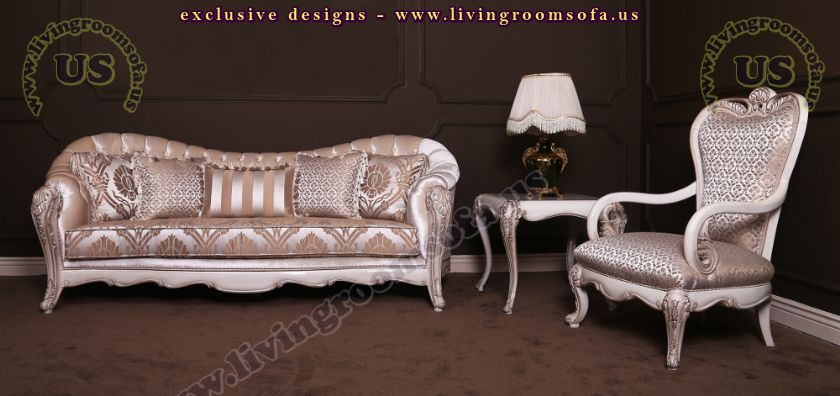 classic living room sofa and coffe table design