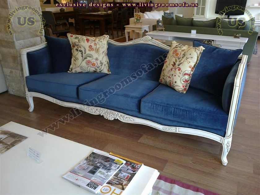 country classical modern couch design