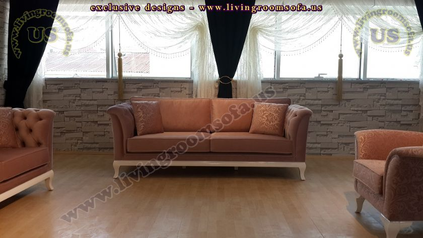 country style quilted sofa design