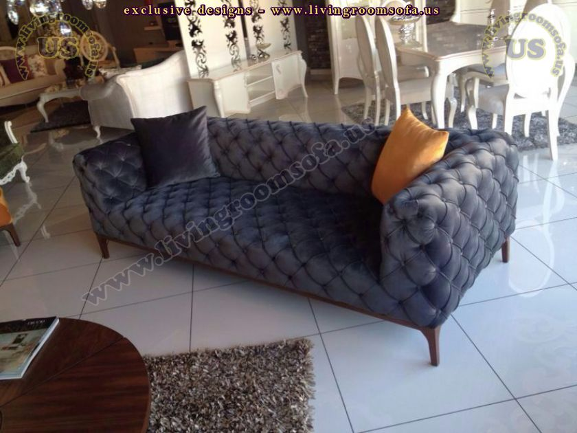 decorative chesterfield sofa