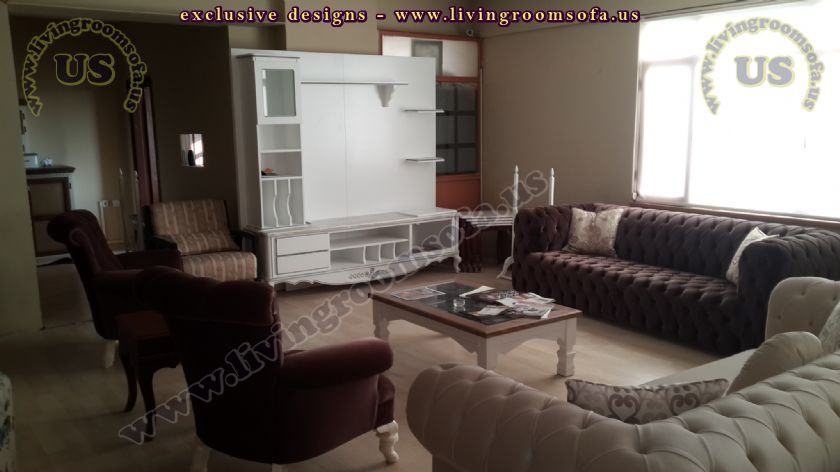 livingroom design idea wall unit sofas couches