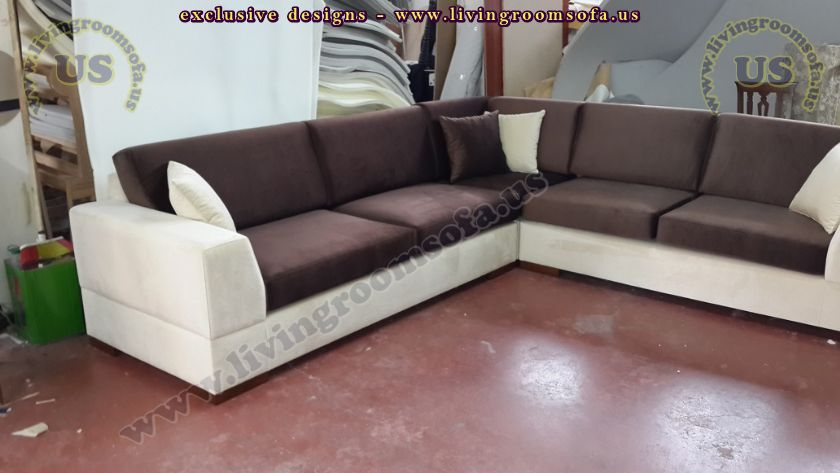 modern sectional sofa fabric