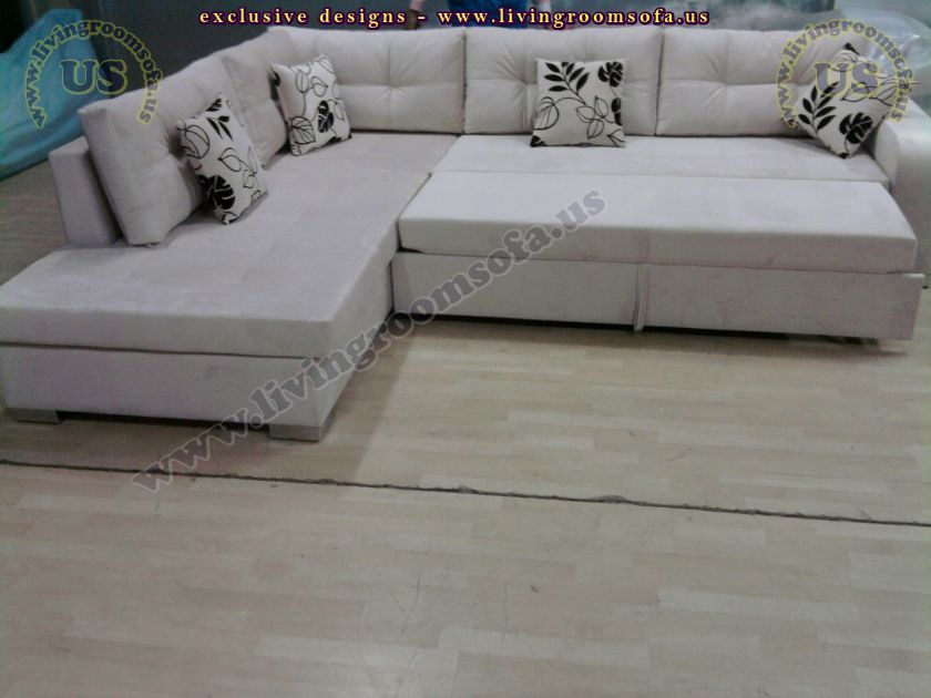 modern sectional sofabed design idea