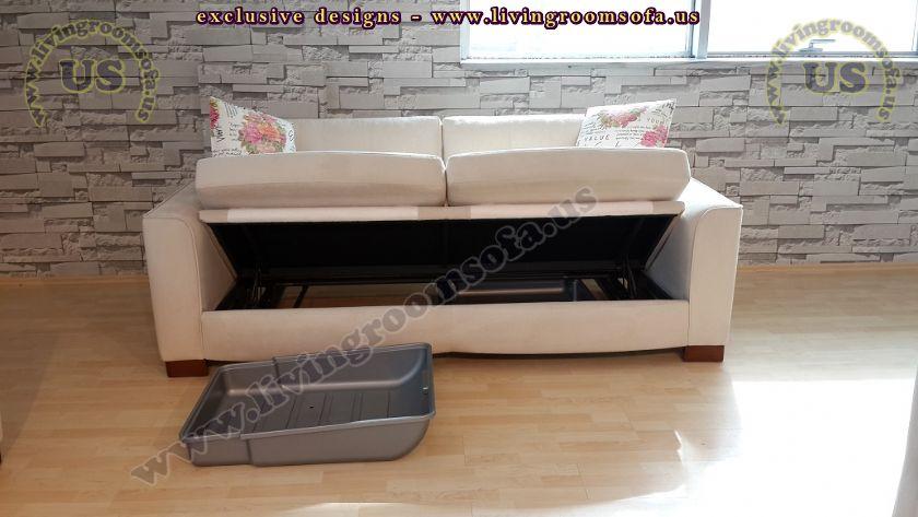 modern white sofabed design