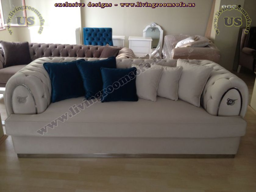 ottoman style chesterfield couch design