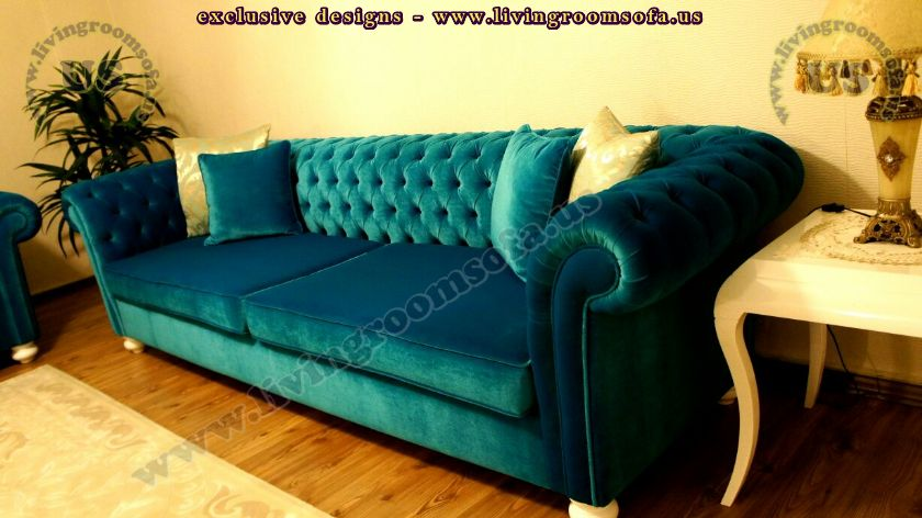 Turquoise Velvet Sofa Teal Velvet Sofa Bed With Solid Wood