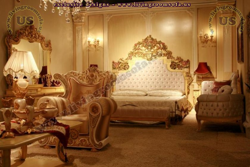 wonderful carved clasasic bedroom furniture design